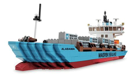Boat Transport Captain Jobs by Heroic Ship Maersk Alabama Lego Edition Gcaptain