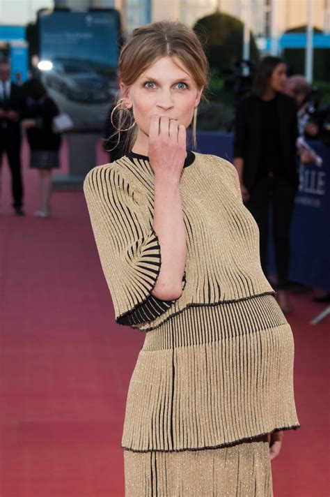 clemence poesy  baby gold promoting imperium  france