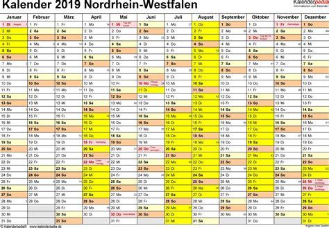 kalender nrw mit ferien kalender plan
