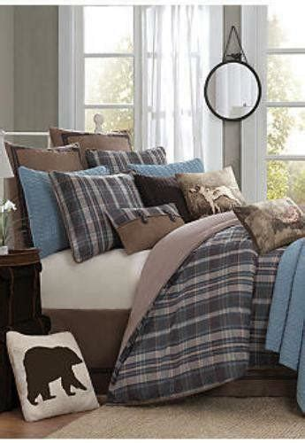 Blue And Brown Duvet Cover by King Duvet Cover Blue Brown Ebay