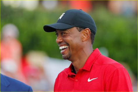 Tiger Woods & Girlfriend Erica Herman Kiss After His 2018 ...