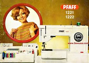 Pfaff 1221 1222 Instruction Manual