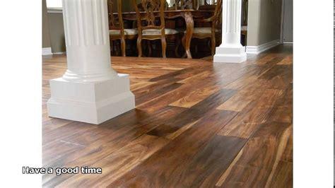 Acacia Wood Flooring Youtube