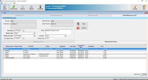 asset tracking system  asset management software