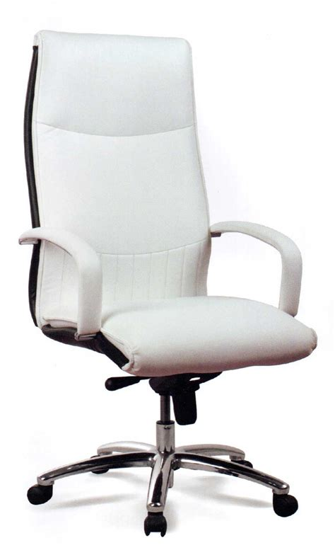 white executive desk chair attachment white executive office chair 1250