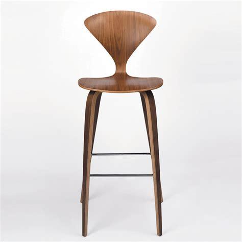 cherner chair wood base stool bar modern bar stools