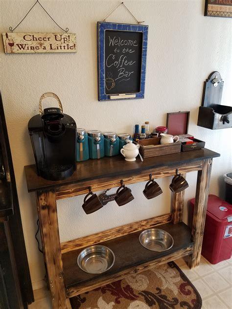 Coffee Bar Furniture by Coffee Bar Feeding Station Coffee Station In 2019