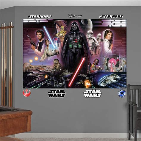 stickers wars mural fathead wars classic mural