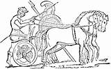 Chariot Horse Clipart War Greek Clip Drawn Pages Etc Roman Coloring Template Battles Sketch Clipground Carriage Chiefs Templates Usf Edu sketch template
