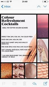 Underlying Pigment Chart Wella Wella Color Numbers Hair Pinterest Colour Chart