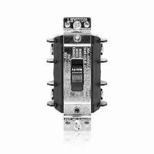 Leviton 30 Amp 600 Volt Industrial Grade Double Pole