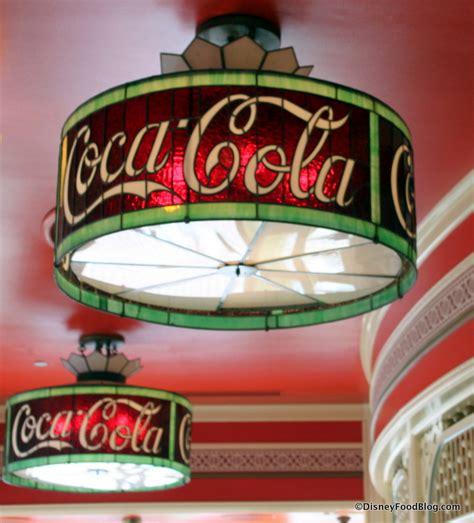 coca cola light fixture snack series cream cheese pretzel at disneyland s
