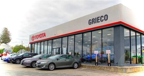 Pittsburgh Toyota Dealers by Grieco Toyota Car Dealership In East Providence Ri 02914