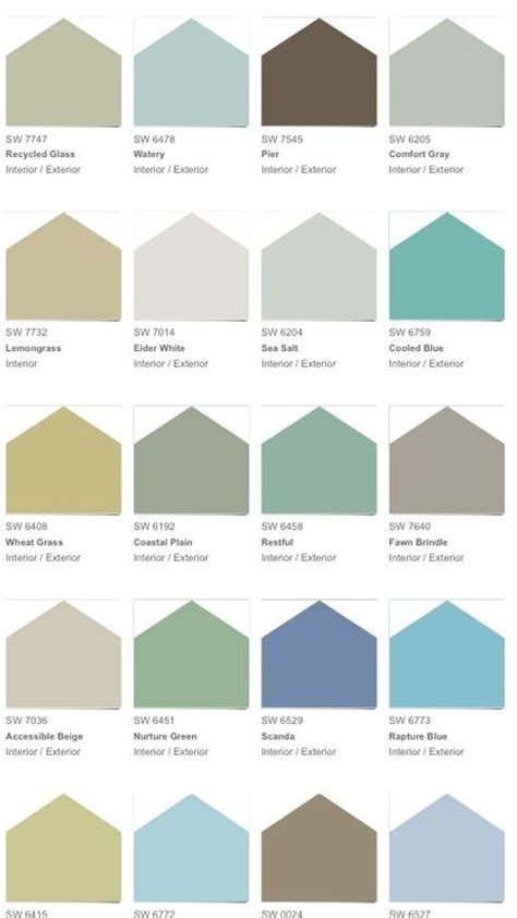 coastal colors future home planning