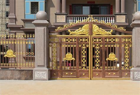 antique automatic gate colors aluminum gate