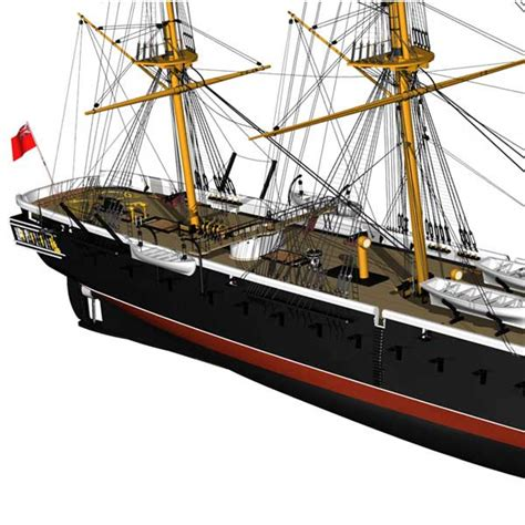 Warrior Billing Boats billing boats hms warrior 1 100 mcronse
