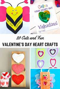 20 Cute and Fun Valentine's Day Heart Crafts | Crafts ...