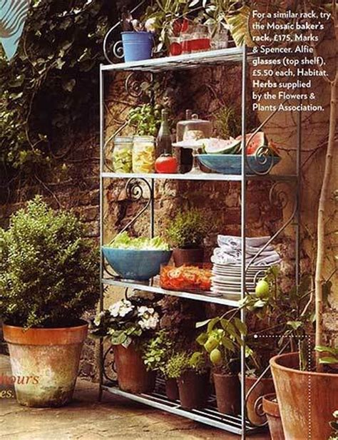 19 best images about garden baker s rack on