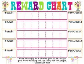 Free Behavior Charts For Kids With Cute Animal Characters