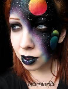 Space Face Paint Halloween