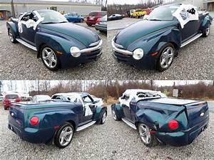2005 Aqua Blur Chevrolet Ssr