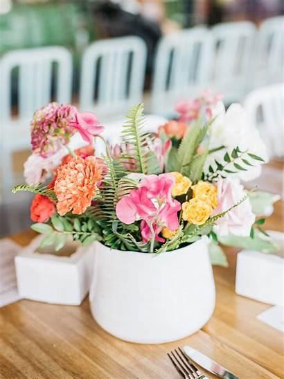 Bridal Shower Centerpieces Bride Table Flower Tables