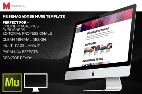 Musemag Adobe Muse Template Website Templates Musemag Adobe Muse Template Website Templates On