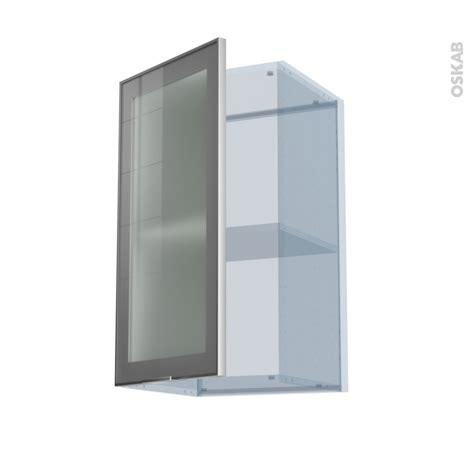 cuisine alu sokleo façade alu vitrée kit rénovation 18 meuble haut ouvrant h70 1 porte l40xh70xp37 5 oskab