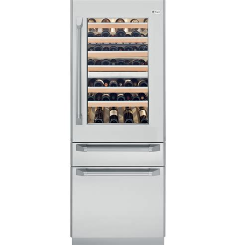 ziwgnzii monogram  fully integrated wine refrigerator  monogram collection