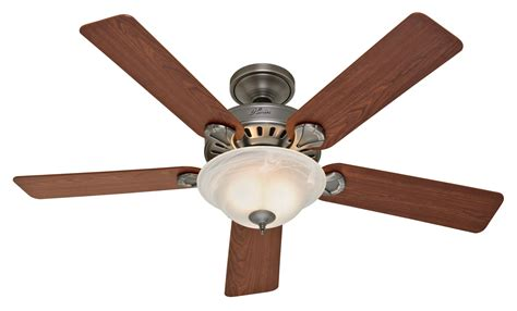 Hunter Insignia Ceiling Fan 28708 In Antique Pewter