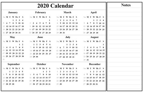 printable yearly calendar template holidays word