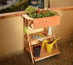Jardinière En Hauteur : bakice jardiniere a hauteur en bois garden k ~ Nature-et-papiers.com Idées de Décoration