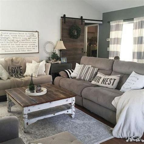 Chic Living Room Makeover Fit Country by 20 Cozy Farmhouse Living Room Makeover Decor Ideas