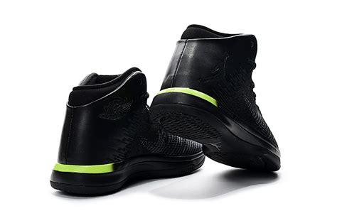 Nike Air Jordan Xxxi 31 Black Bright Yellow Men Basketball