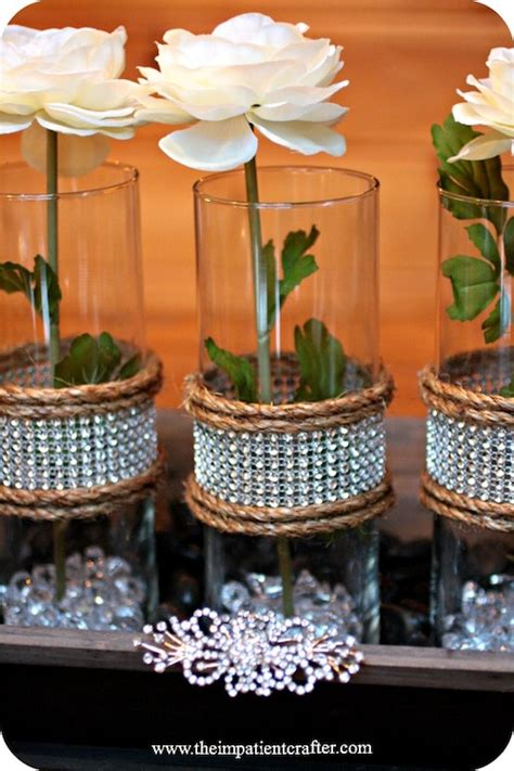 diy wedding centerpiece rustic elegance decor hacks