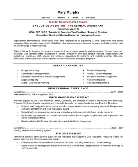 sample resume  examples   word
