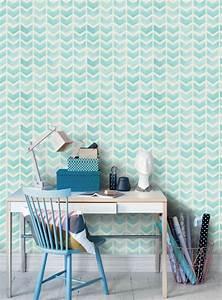 Papier Peint Bureau : 1001 mod les de papier peint 3d originaux et modernes ~ Melissatoandfro.com Idées de Décoration