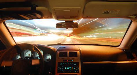 Cockpit, Driving, Car, Night