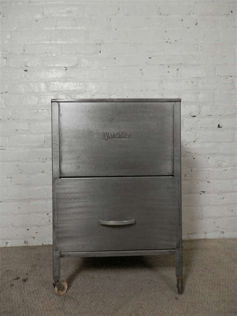 mid century file cabinet mid century rollaway mobile file cabinet by vertiflex at