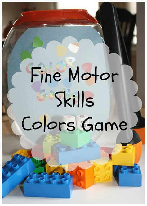 motor skills best of 2013 bins for 946 | color game fine gross motor play