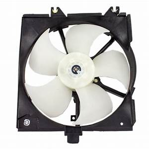 95-99 Dodge Plymouth Neon Drivers Radiator Cooling Fan Motor Assembly