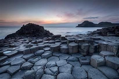 Ireland Causeway Landscape Nature Backgrounds Wallpapers Beach