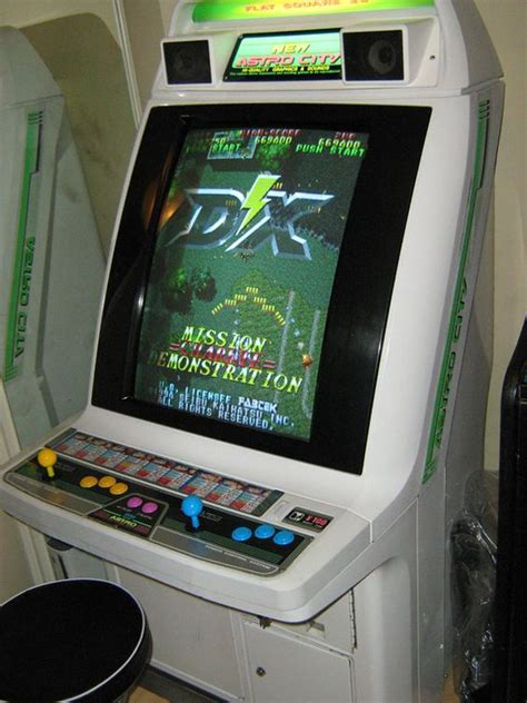 my new astro city arcade cabinet with raiden dx installed arcade gaming