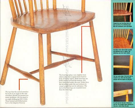 arts  crafts reading chair plans woodarchivist