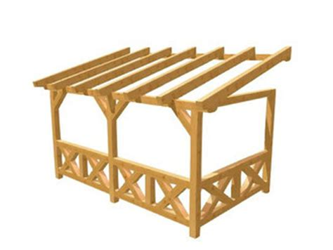 how to build a carport pergola selber bauen holz baupläne