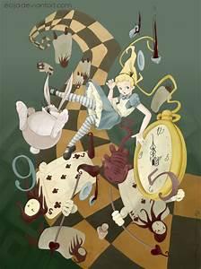 Falling Alice by Ecija on DeviantArt