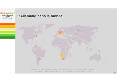 chambre de commerce franco allemande non à la disparition programmée de l 39 allemand de l