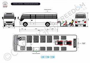 Wheelchair Access Vehicle Conversion  Toyota Coaster  Nsw