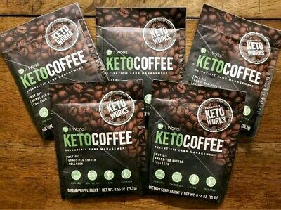Very little (almost none) amounts of all you need is a fresh pot of coffee and a high grade mct oil. It Works! KetoCoffee Keto Coffee 5 Single Serve Packets - New! Carb Management   eBay