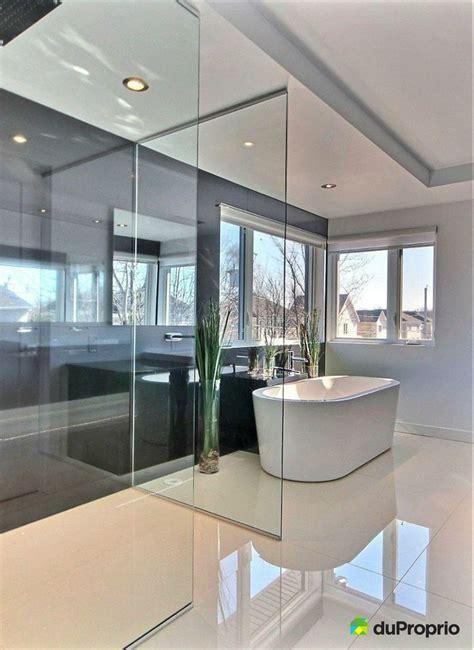 salle de bain noir  blanche magnifique salle de bain
